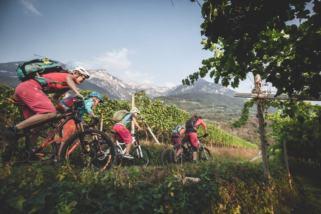 Südtirol, Italien, Tramin, Kalterer SEe, Weinstraße, Südtiroler Weinstraße, Mountainbike Urlaub, MTB Urlaub, Reisen, Mountainbiken