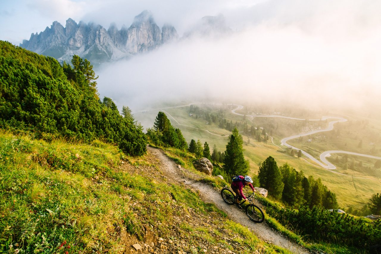 Gröden, Dolomiten, Südtirol, Mountainbike Urlaub, MTB Urlaub, Mountainbike Reise, Mountainbiken, Biken