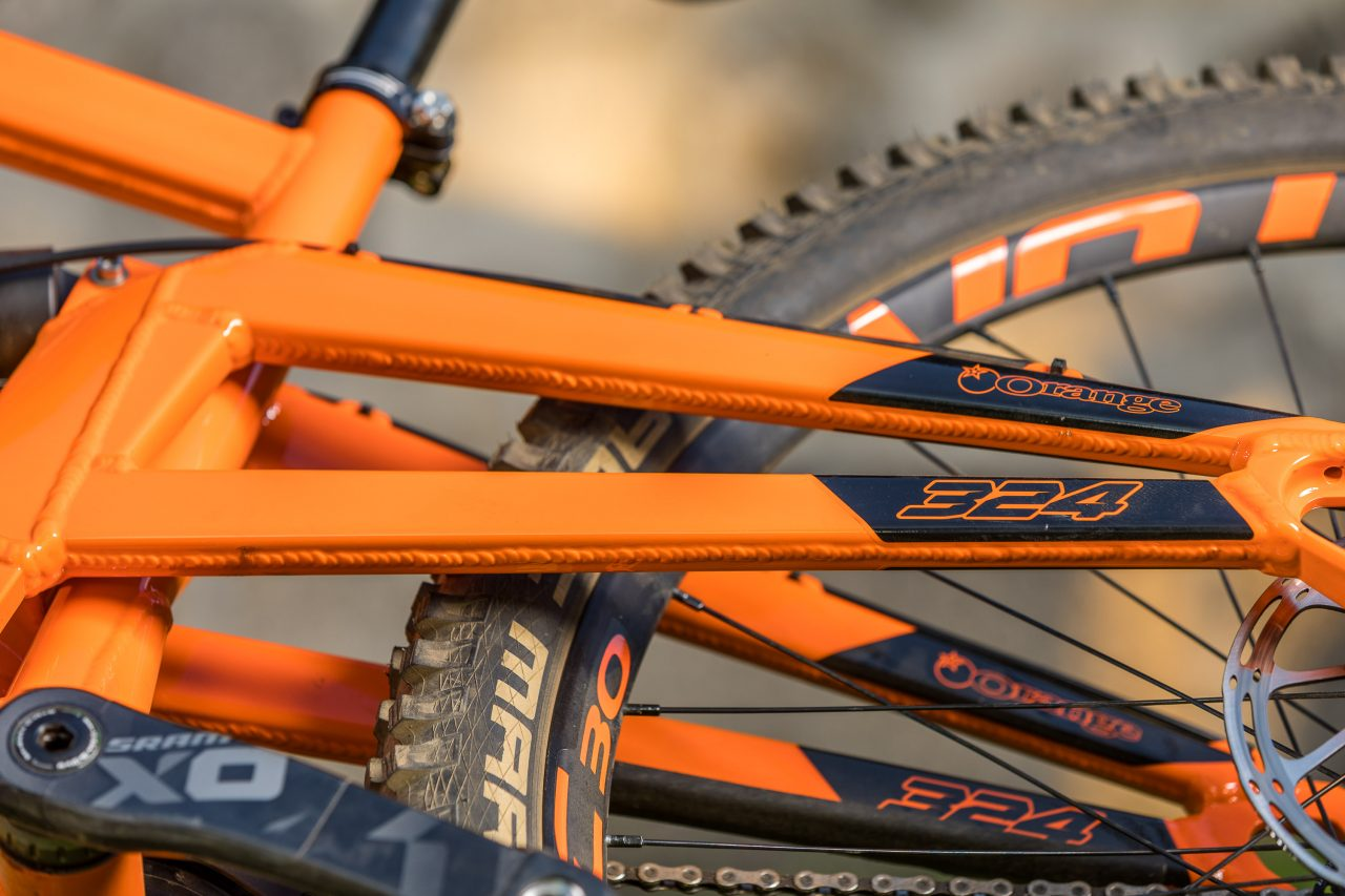 Orange 324 Factory, Mountainbike, Gravity, Fully, Downhill
