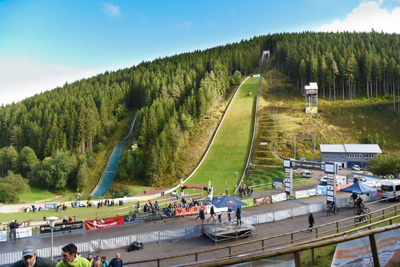 Trail Heros, Mountainbike, Bikerennen, Singer Wäldercup, Titisee Neustadt, Mountainbiken, Biken, Hochfirstschanze, Markus Bauer, Radmarathon