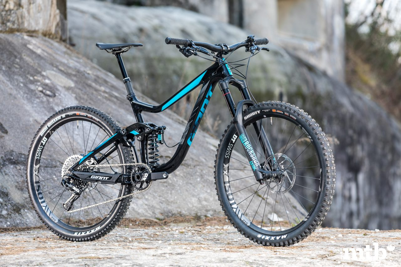 Mountain Bike, Enduro, Giant, Reign Advanced 0, Trail, Fully