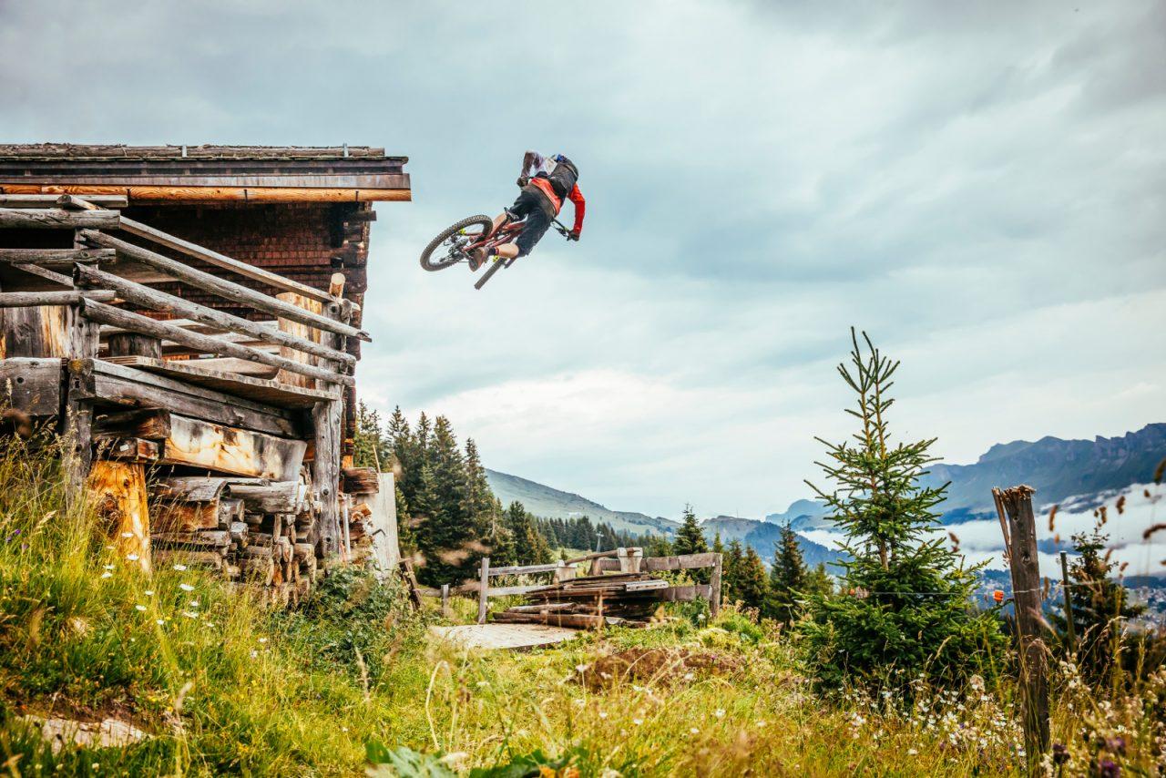 Mountainbike, Danny Macasskill, Claudio Caluori, Graubünden, Trails