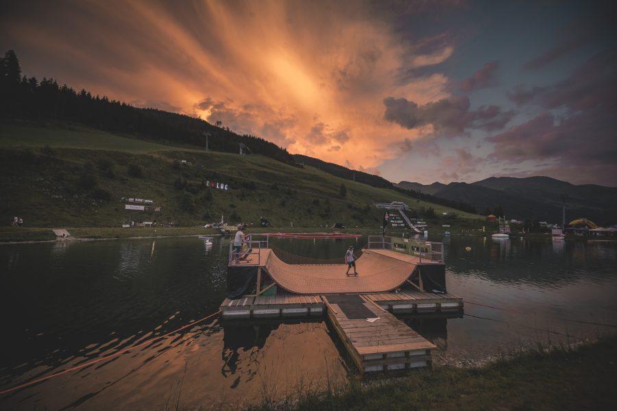 Lake of Charity, MTB, Saalbach, Hinterglemm, Spenden, Gerstreit Speicherteich