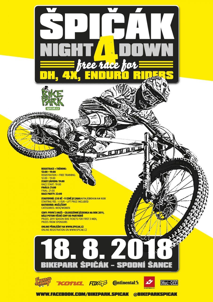 Rennen, MTB, Spicak, Bikepark, Night 4 Down, worldofmtb, Fourcross