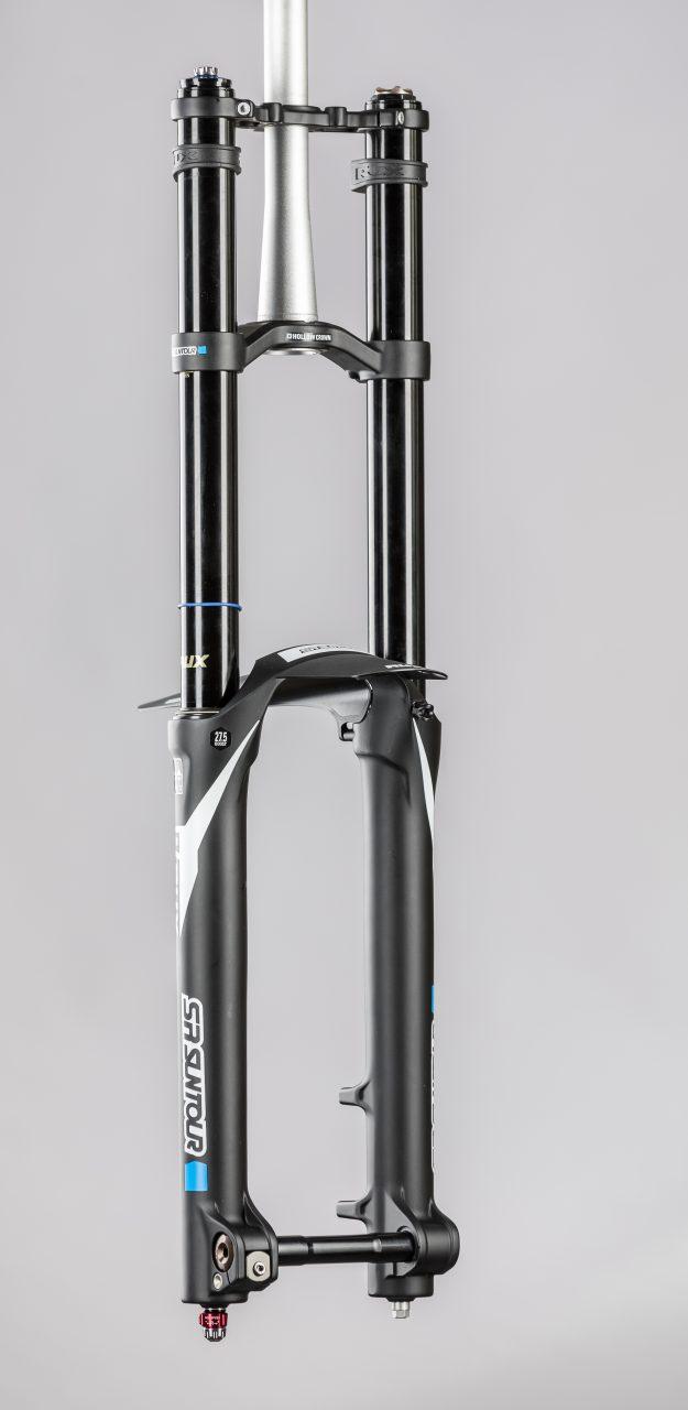 SRSUNTOUR RUX R2C2 PCS, Federgabeltest, Doppelbrückengabeln, Doppelbrücke, MTB, Mountainbike, Downhill, Gravity, Bikepark, Test, world of mtb,