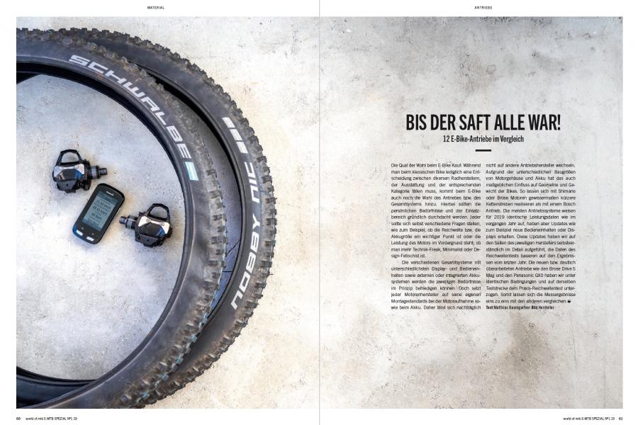 Test: BROSE DRIVE S MAG E-Bike Antrieb 2019 - world of mtb Magazin