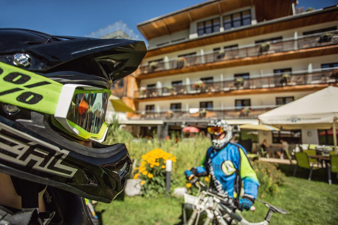 Bike Hotel Bacher Asitzstuben Biker