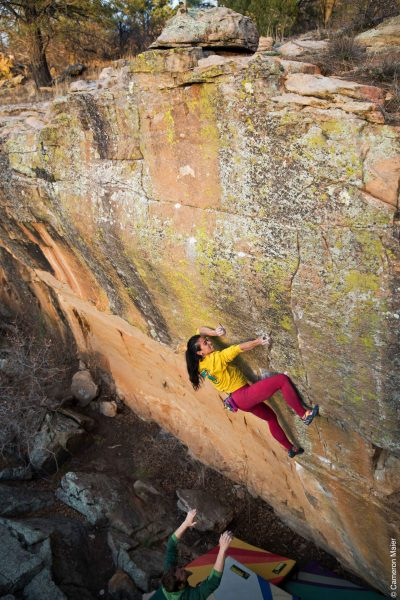 European Outdoor Film Tour 19:20 Nina Williams Klettern