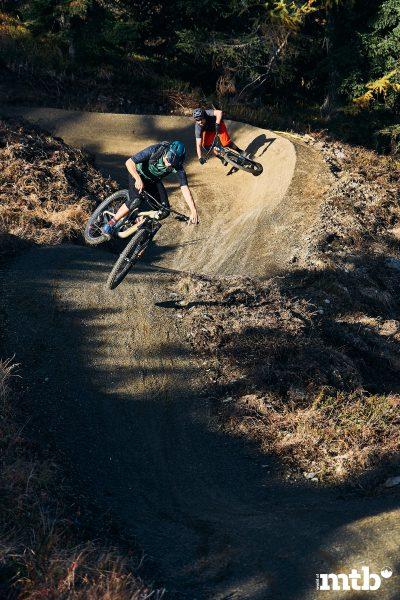 Bikepark Planai Schladming Flow Trail Anlieger