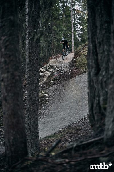 Bikepark Planai Schladming Jumpline Drop