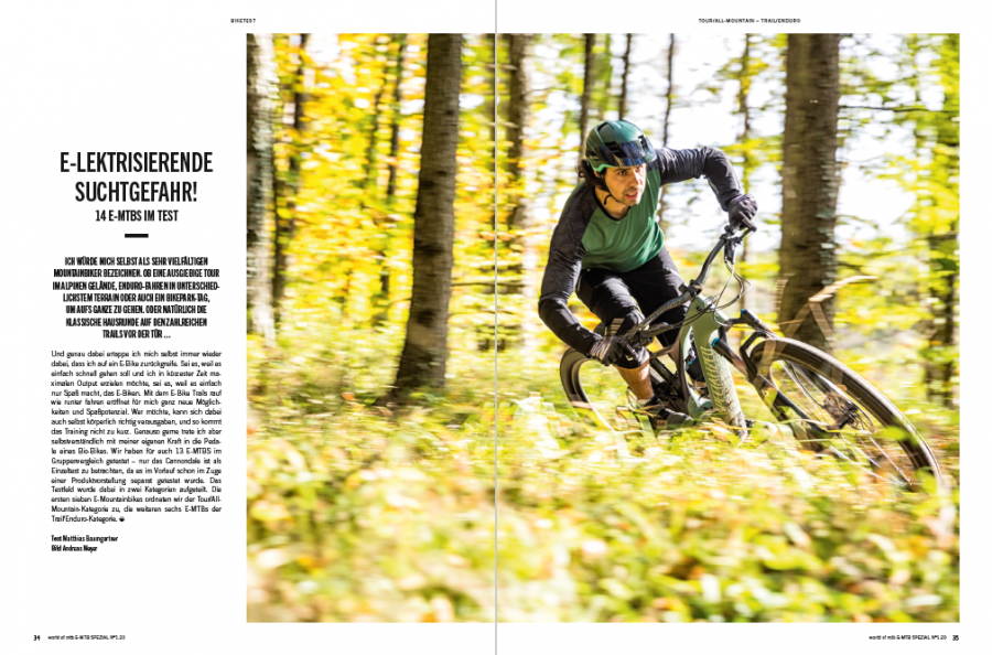 E-MTB world of mtb Magazin Biketest Test