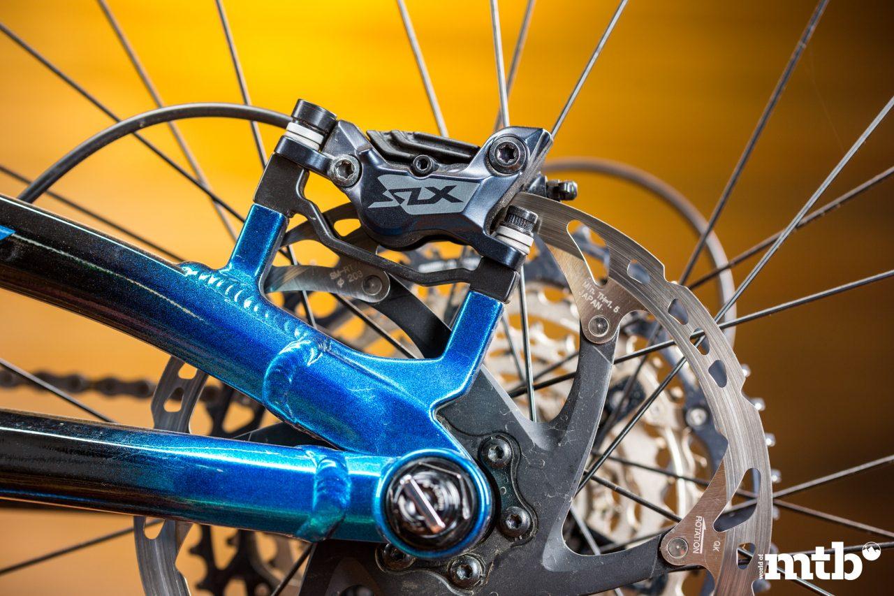 Test: BH Bikes AtomX Lynx 6 Pro-S E-Bike 2020 Bremse