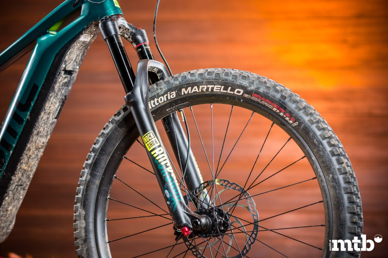 Test: Bmc Trailfox Amp One E-Bike 2020 Federgabel
