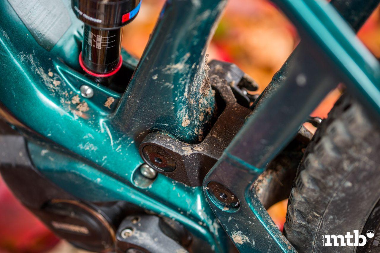 Test: Bmc Trailfox Amp One E-Bike 2020 Hinterbau