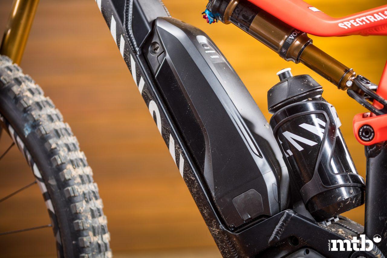 Test: Canyon Spectral:ON 9.0 E-Bike 2020 Akku