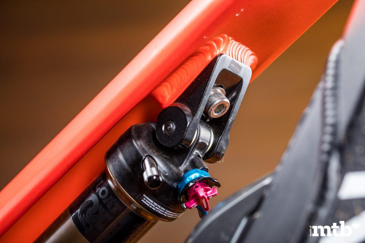Test: Canyon Spectral:ON 9.0 E-Bike 2020 Federbein