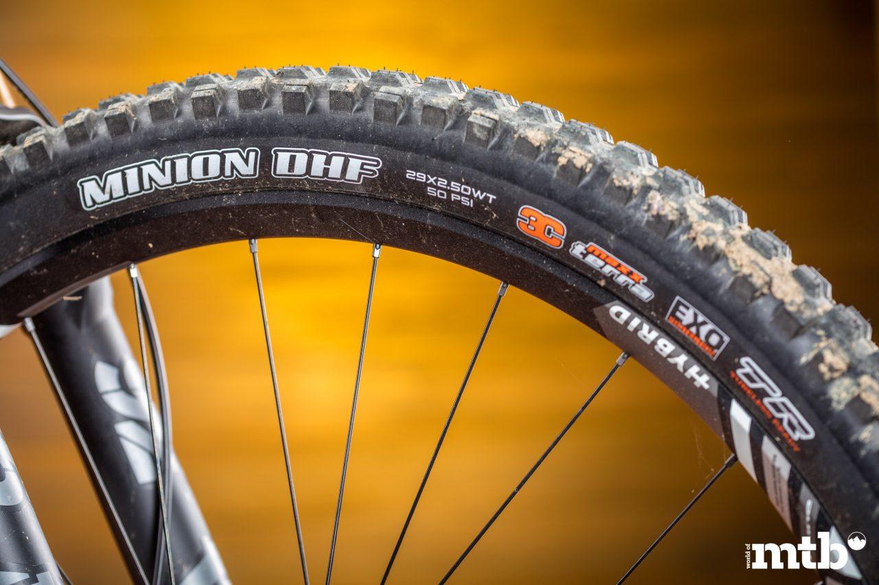 Test: Canyon Spectral:ON 9.0 E-Bike 2020 Reifen