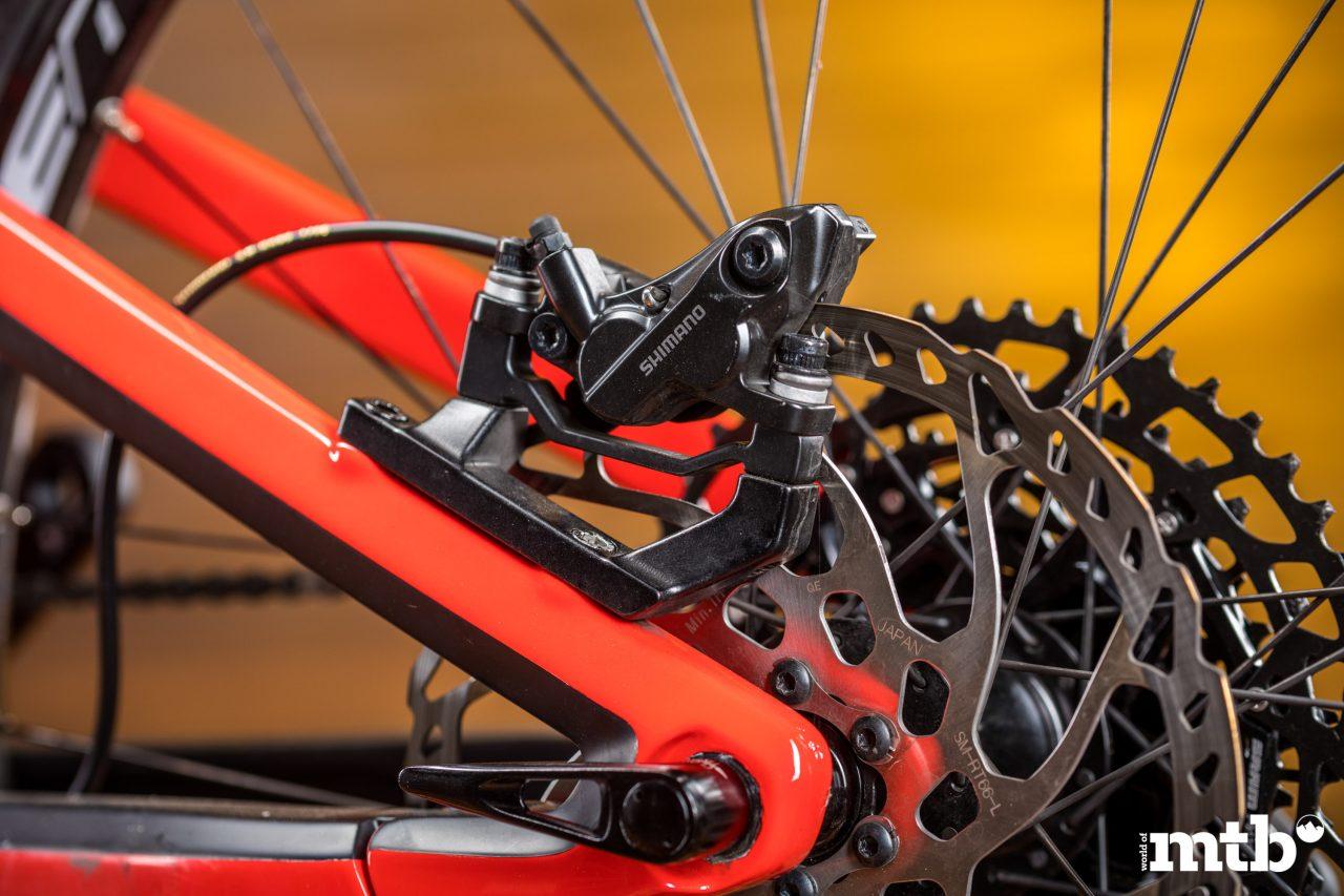 Test: Conway Xyron 727 Carbon E-Bike 2020 Bremse