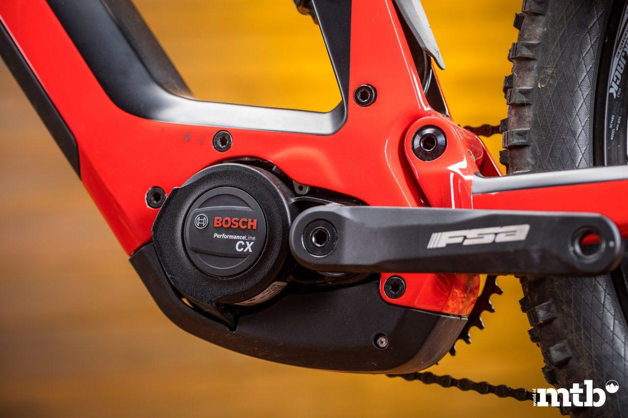 Test: Conway Xyron 727 Carbon E-Bike 2020 Motor