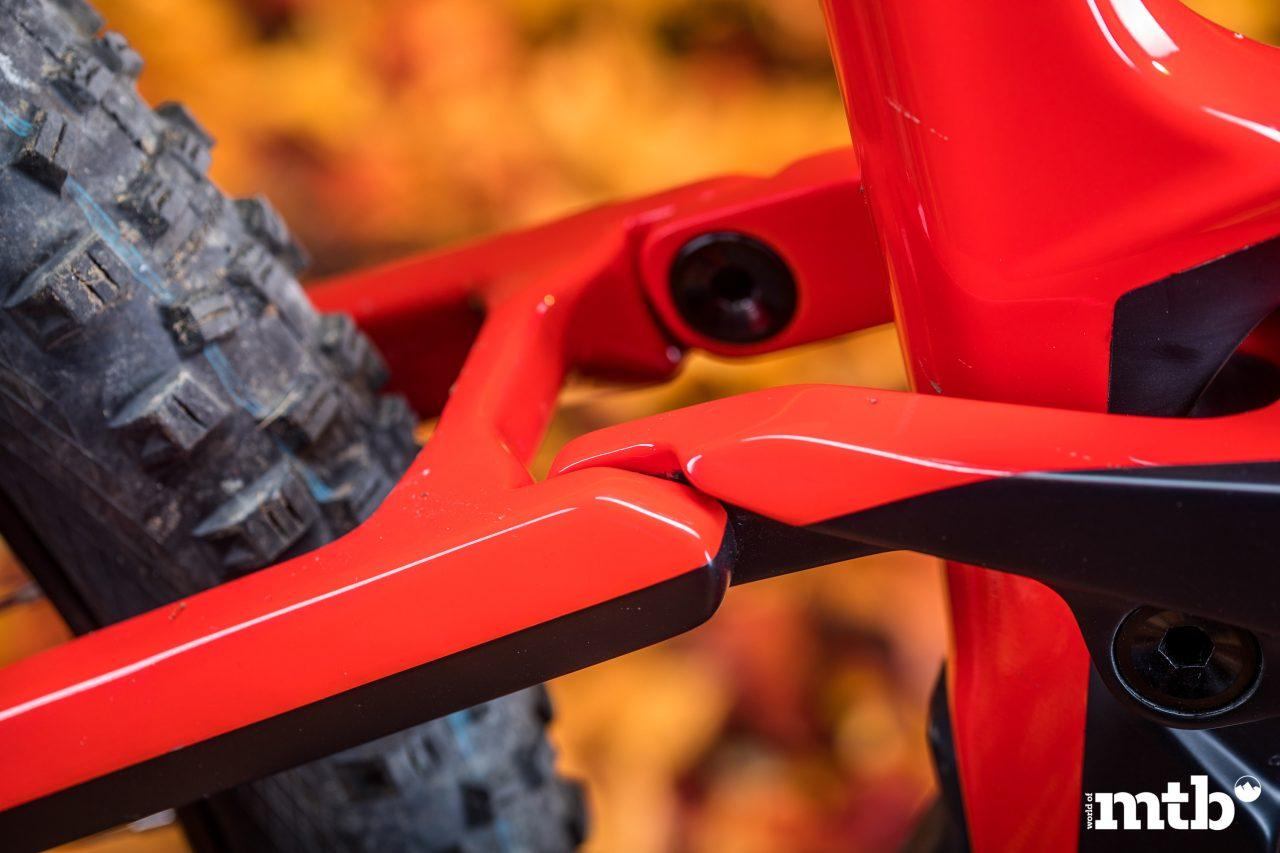 Test: Conway Xyron 727 Carbon E-Bike 2020 Hinterbau