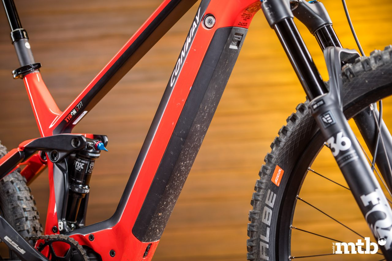 Test: Conway Xyron 727 Carbon E-Bike 2020 Akku
