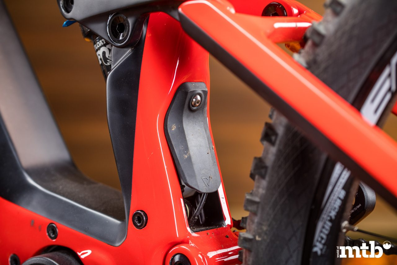 Test: Conway Xyron 727 Carbon E-Bike 2020 Federbein