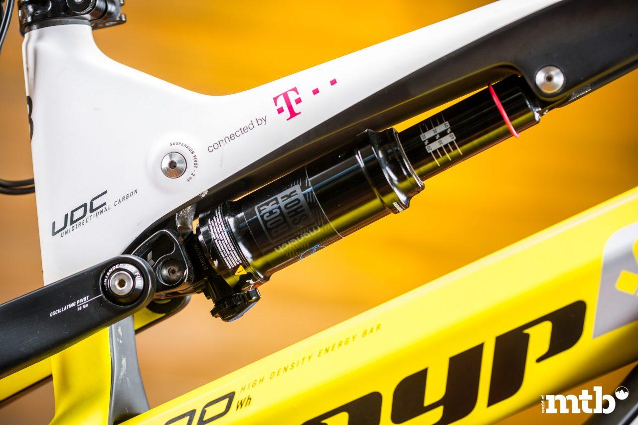 Test: Greyp G6.2 Expert FS E-Bike 2020 Dämpfer