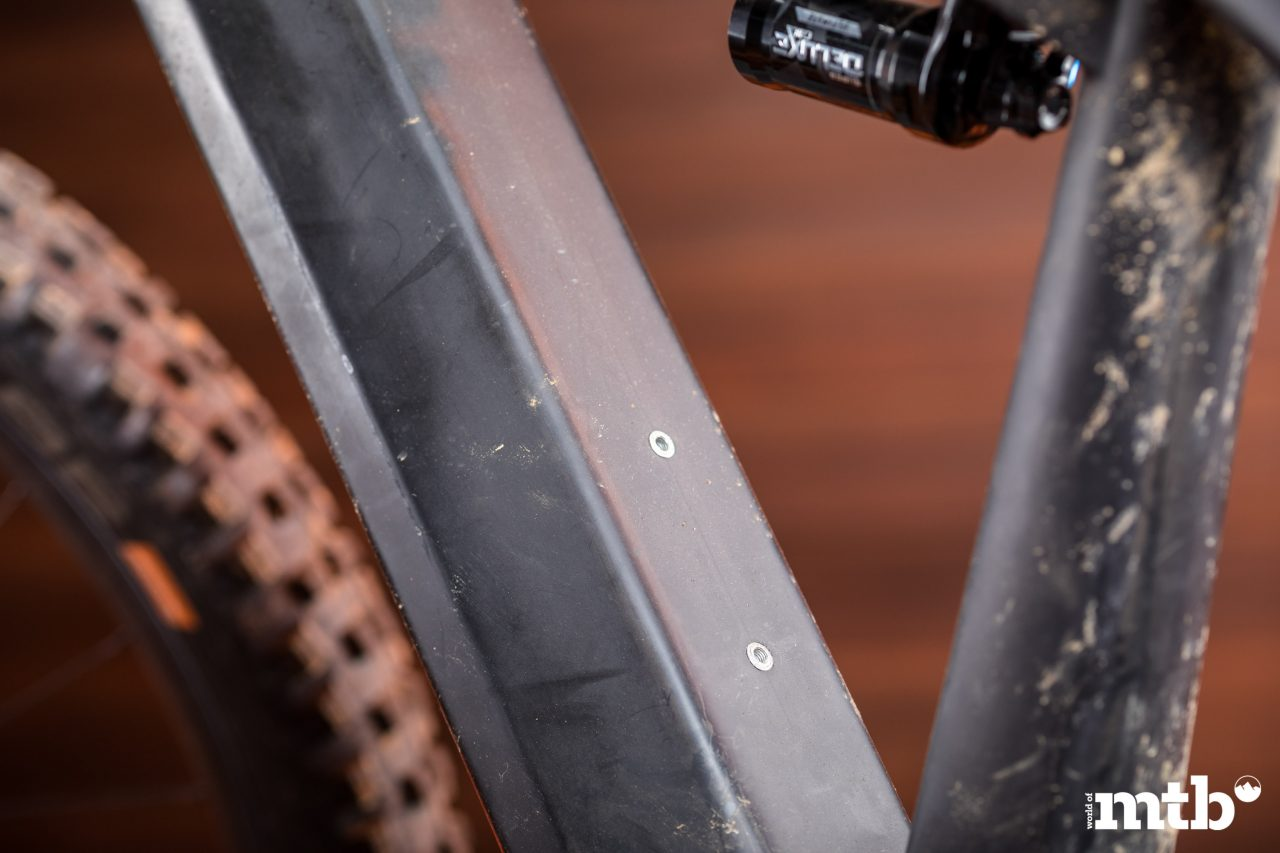 Test: Liteville 301 CE MK1 E-Bike 2020 Flaschenhalter