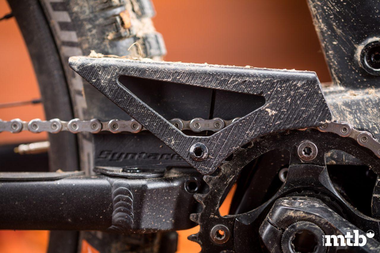 Test: Liteville 301 CE MK1 E-Bike 2020 Kettenschutz