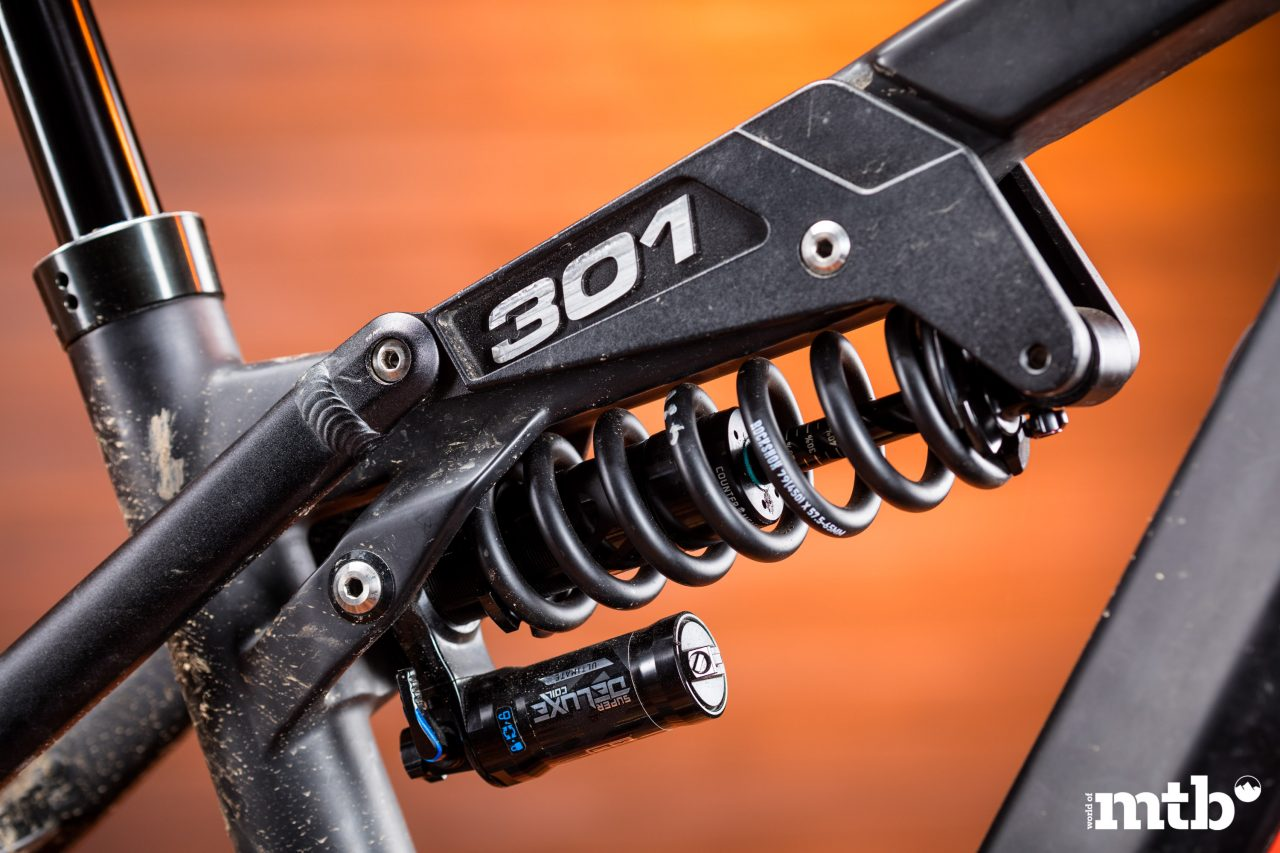 Test: Liteville 301 CE MK1 E-Bike 2020 Federbein