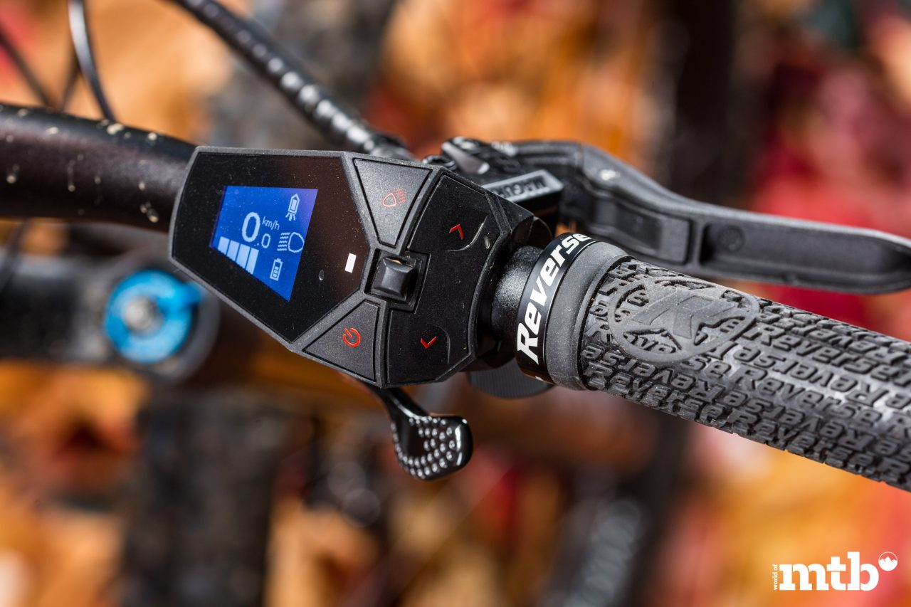 Test: M1 Das Spitzing Evolution Bobby Root Edition E-Bike 2020 Display