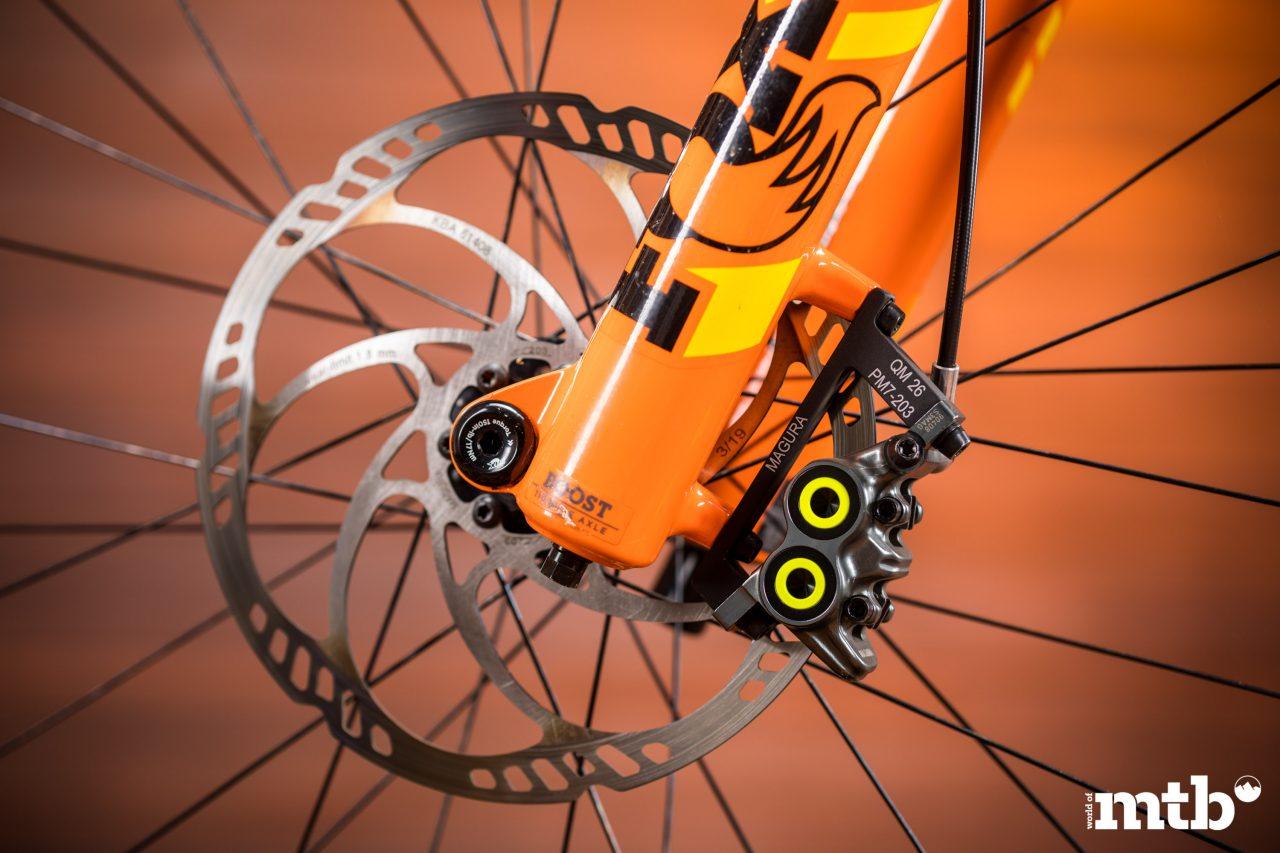 Test: Nox Hybrid 7.1 Enduro Pro E-Bike 2020 Bremse