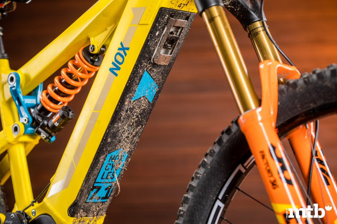 Test: Nox Hybrid 7.1 Enduro Pro E-Bike 2020 Akku