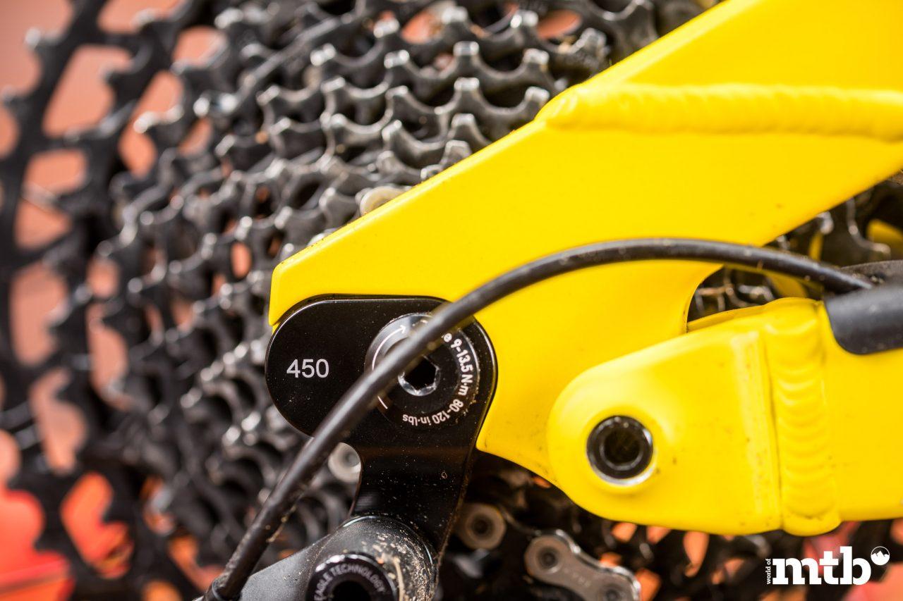 Test: Nox Hybrid 7.1 Enduro Pro E-Bike 2020 Ausfallende