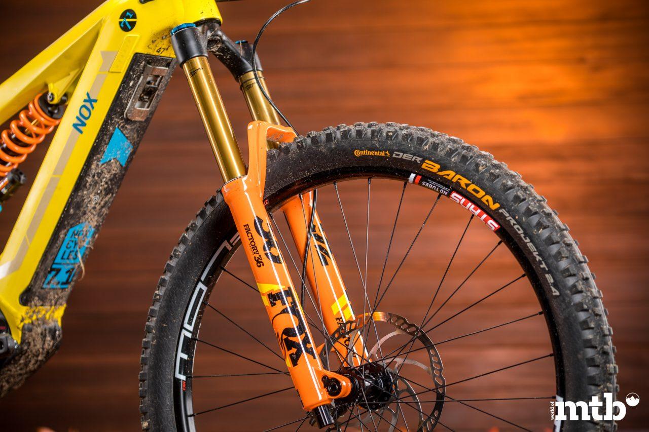 Test: Nox Hybrid 7.1 Enduro Pro E-Bike 2020 Federgabel
