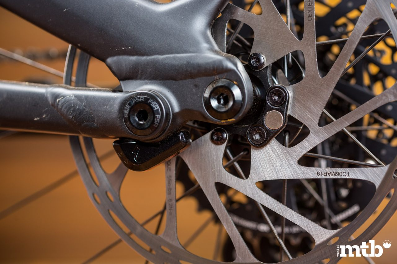 Test: Specialized Turbo Levo Expert Carbon E-Bike 2020 Sensor