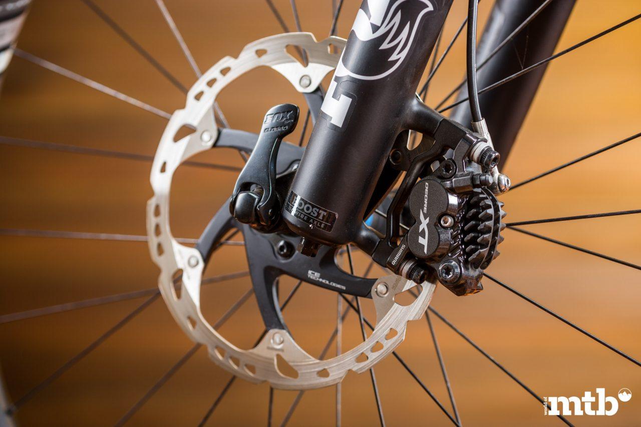 Test: Storck E:Drenalin GTS 500 E-Bike 2020 Bremse