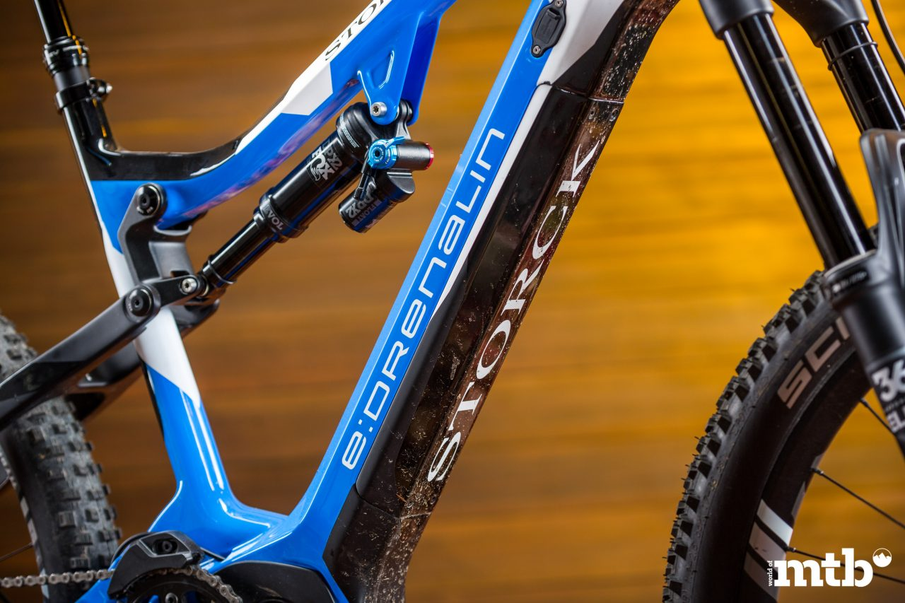 Test: Storck E:Drenalin GTS 500 E-Bike 2020 Akku
