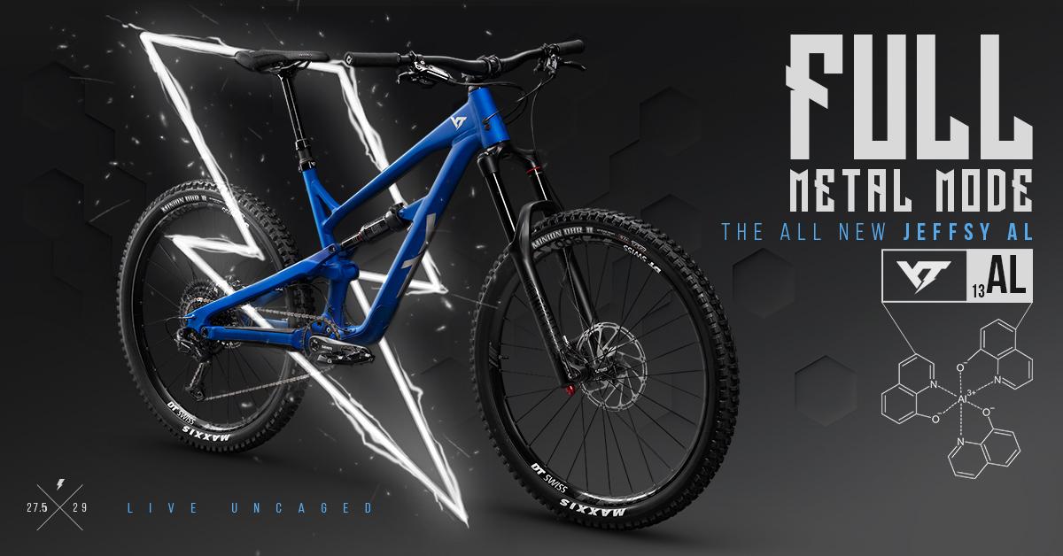 YT JEFFSY: Neues Aluminium Bike
