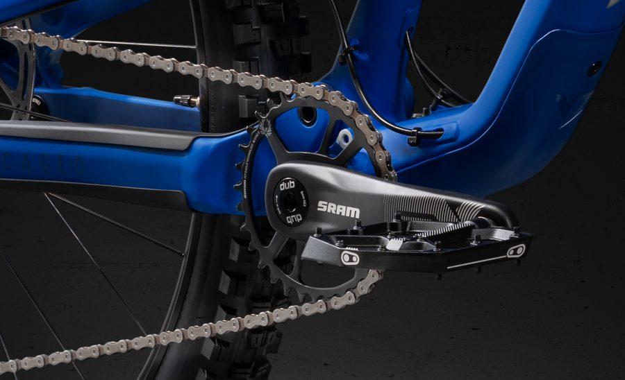 YT JEFFSY_Neues Aluminium Bike_Antrieb