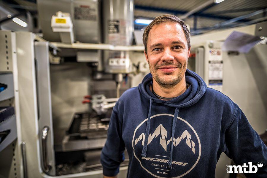 Zu Besuch bei Nicolai Bikes - Markus Schmidt