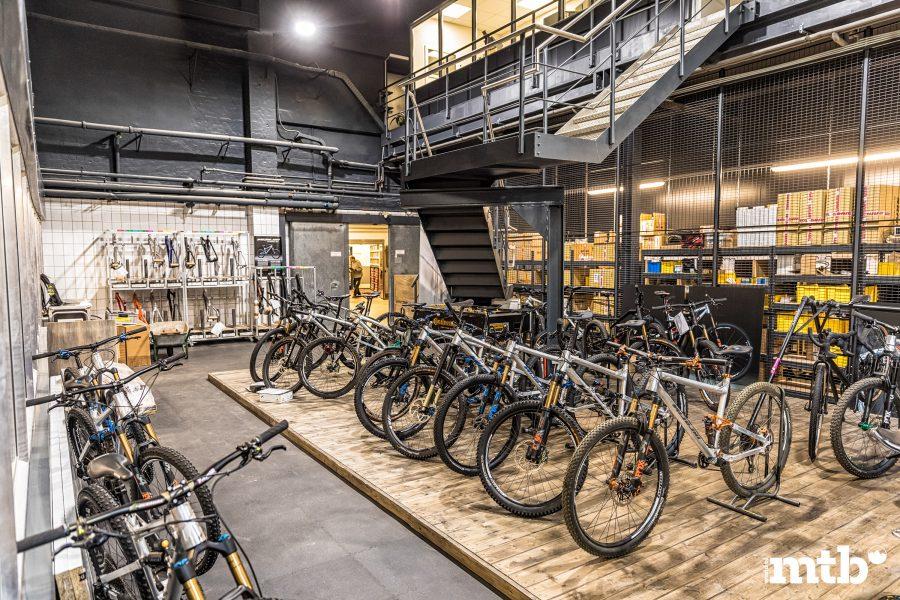 Zu Besuch bei Nicolai Bikes - Showroom