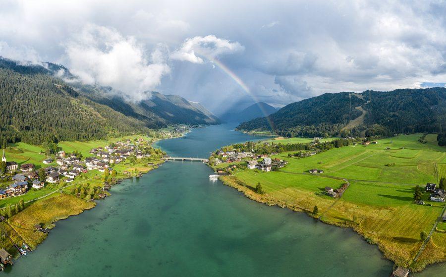 Die Flowtrails in Kärnten Weissensee