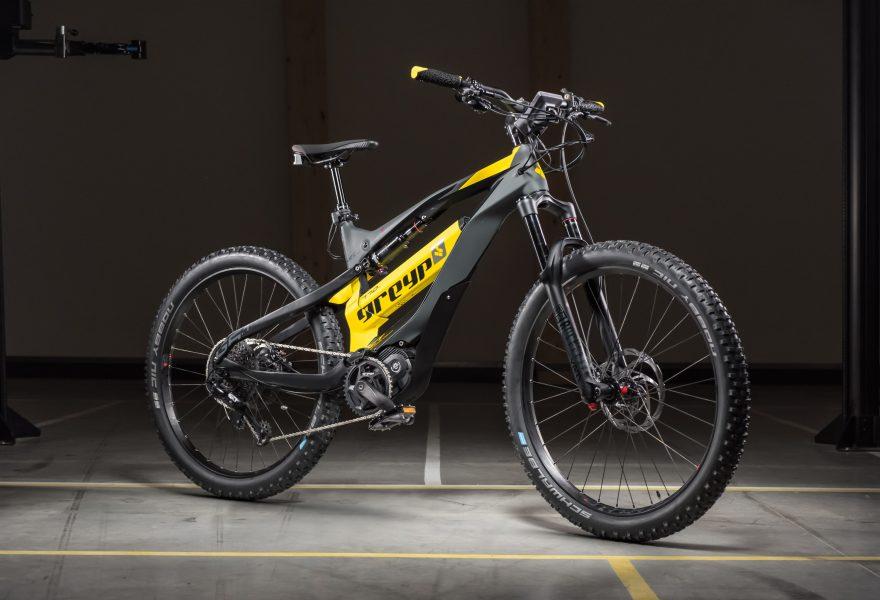 Greyp - Konnektivität am E Mountainbike G6