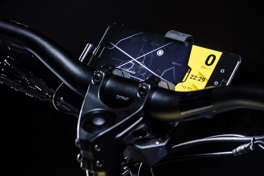 Greyp - Konnektivität am E Mountainbike G6 Detail