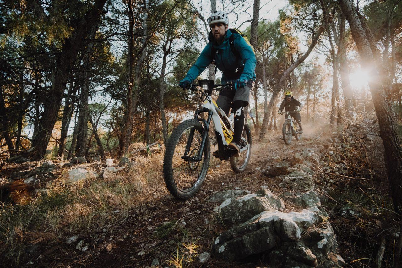 Greyp - Konnektivität am E Mountainbike Ride