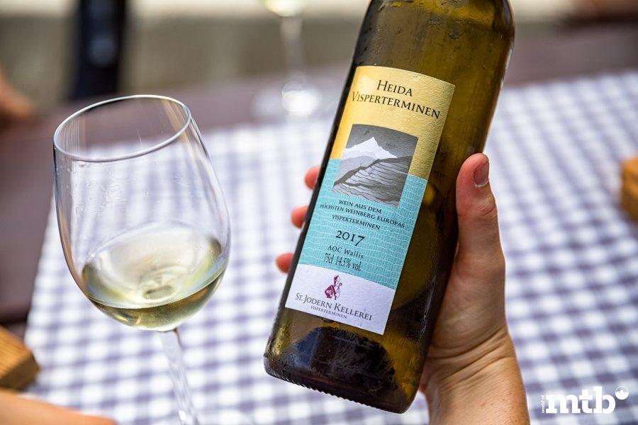 Wer kennt die besten Trails des Wallis Heida Wein