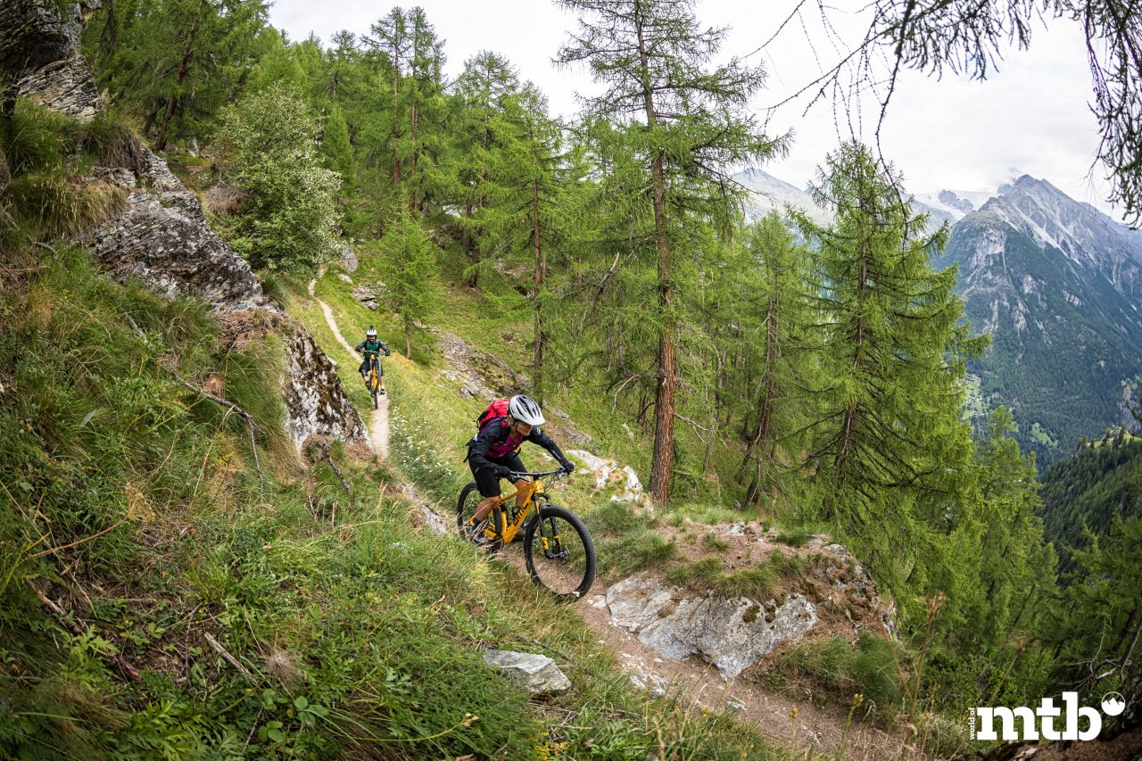 Wer kennt die besten Trails des Wallis Mattsand Enduro Swiss Epic