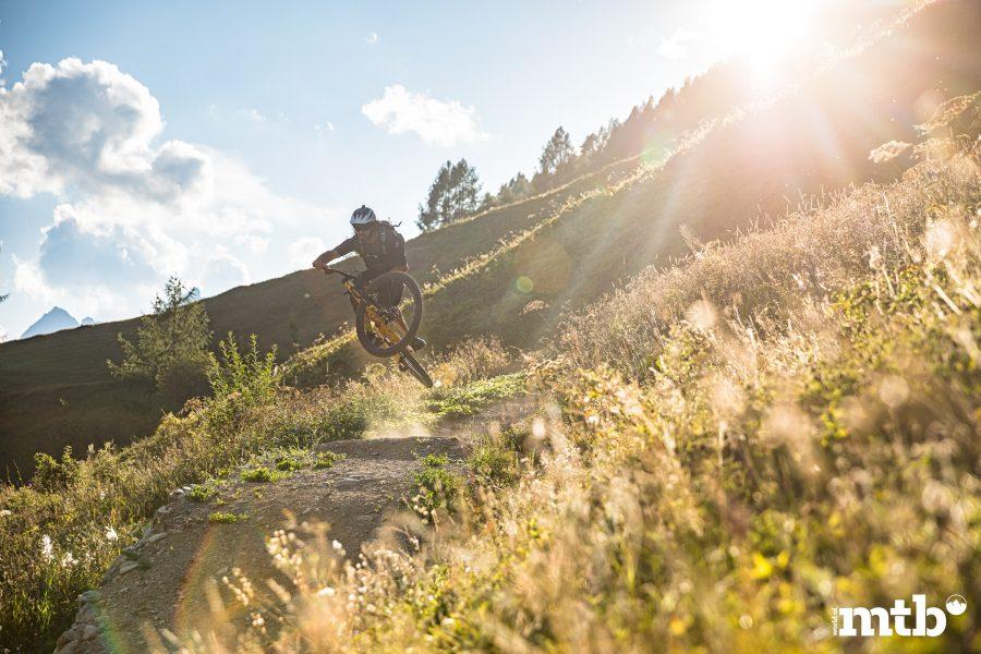 Höhenweg Trails und der schönste Campingplatz des Wallis