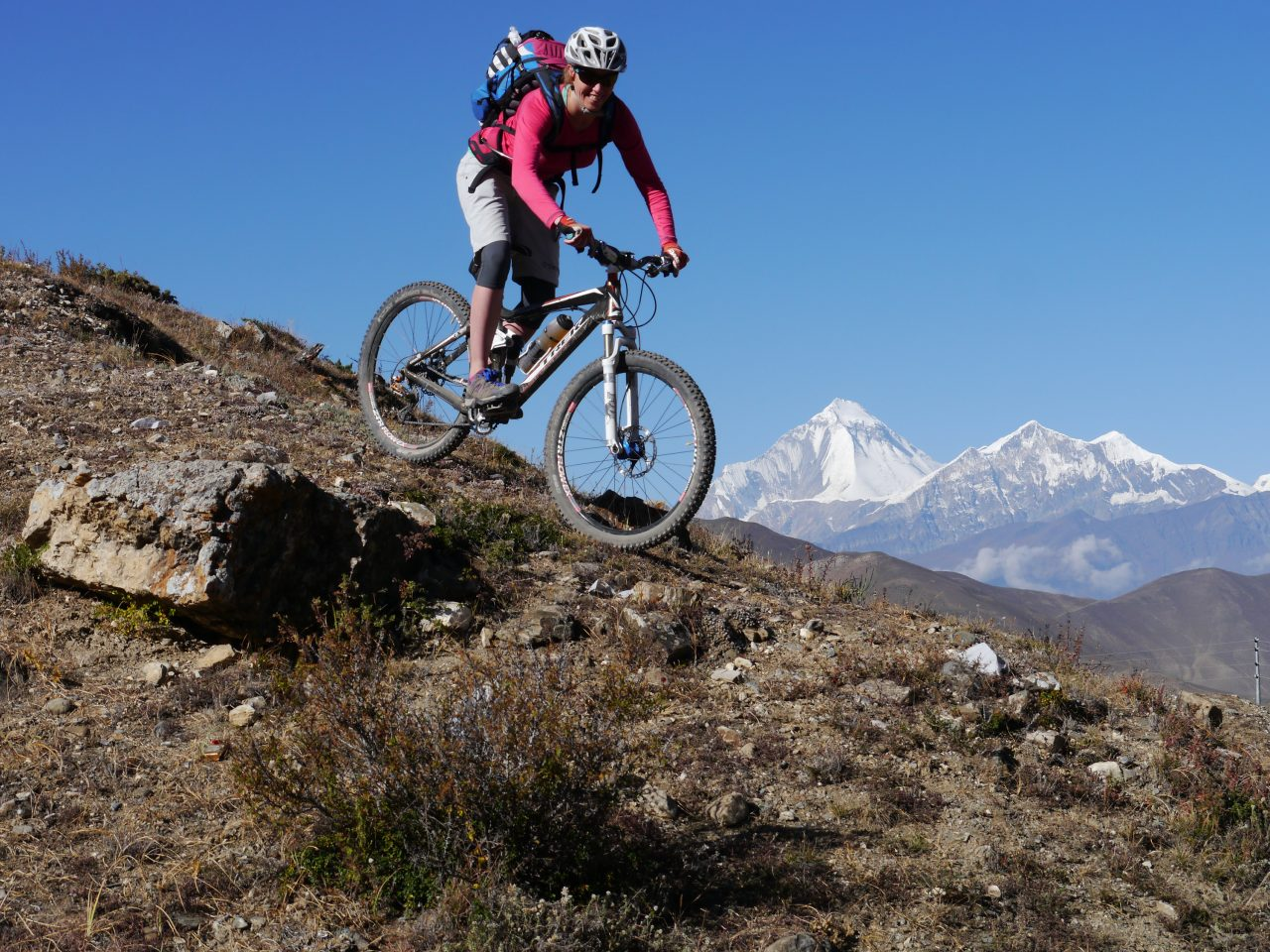 Monatsfrau Claudia Knoll Mountainbike